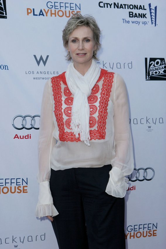 Jane Lynch attends Backstage at the Geffen fundraiser in Los Angeles