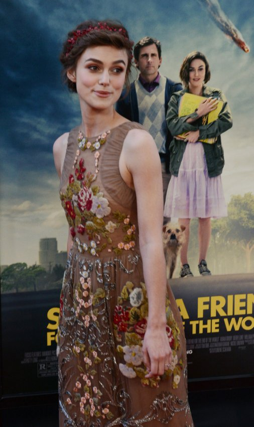 "Keira Knightley attends the premiere of ""Seeking a Friend for the End of the World"" in Los Angeles"