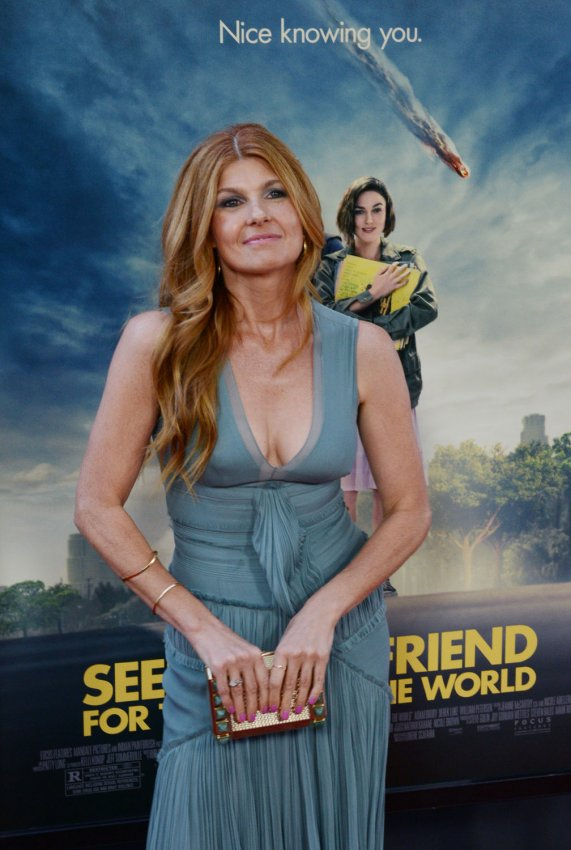 "Connie Britton attends the premiere of ""Seeking a Friend for the End of the World"" in Los Angeles"