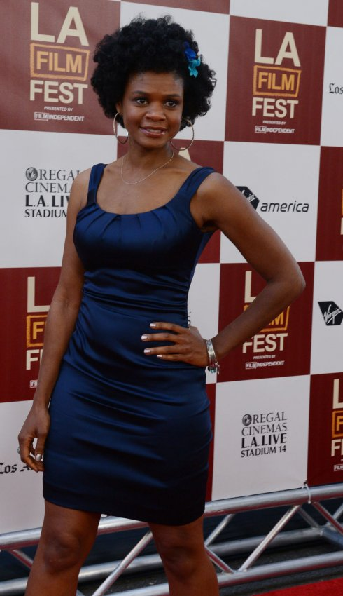 """Kimberly Elise attends the """"Middle of Nowhere"""" premiere in Los Angeles"""