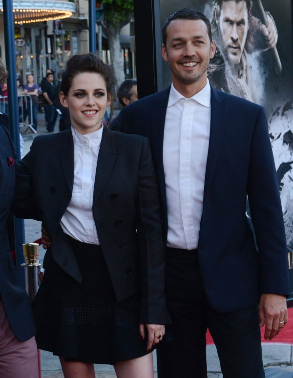 """Rupert Sanders and Kristen Stewart attend a screening of """"Snow White and the Huntsman"""" in Los Angeles"""