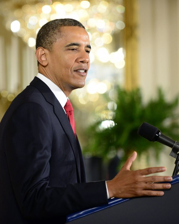 Obama Delivers Remarks at a Naturalization Ceremony for Active Duty Service Members