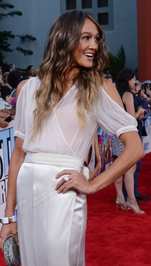 "Sharni Vinson attends the premiere of ""Step Up Revolution"" in Los Angeles"