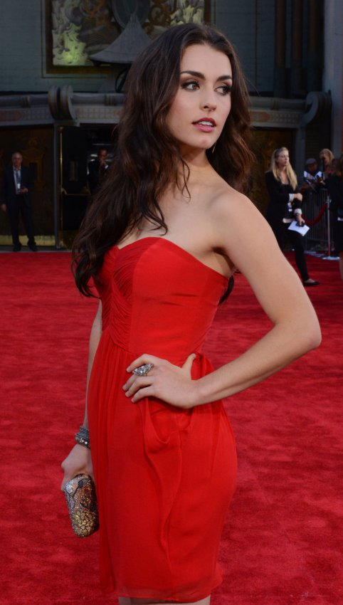 """Kathryn McCormick attends the premiere of """"Step Up Revolution"""" in Los Angeles"""