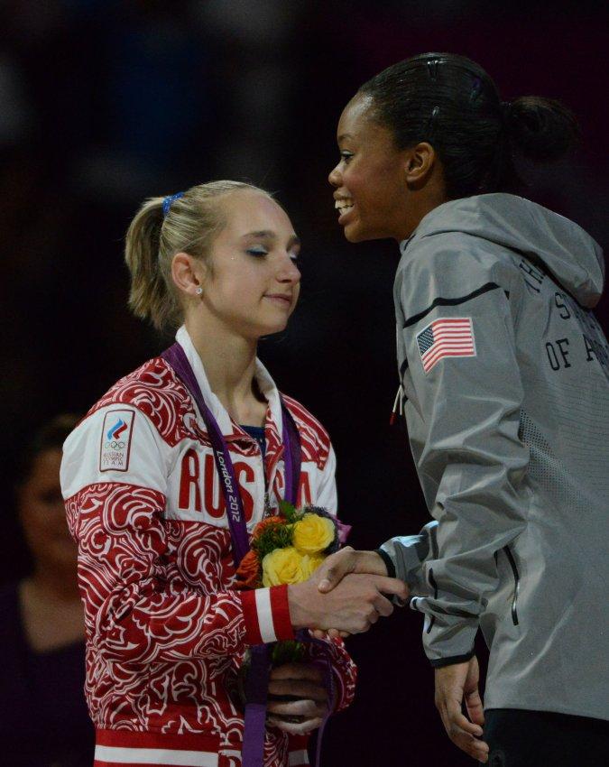 Women's Gymnastics Individual All-Around Final at London Olympics