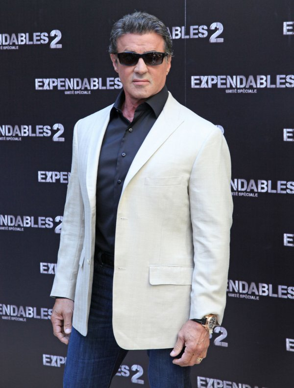 "French premiere of ""The Expendables 2"" in Paris"