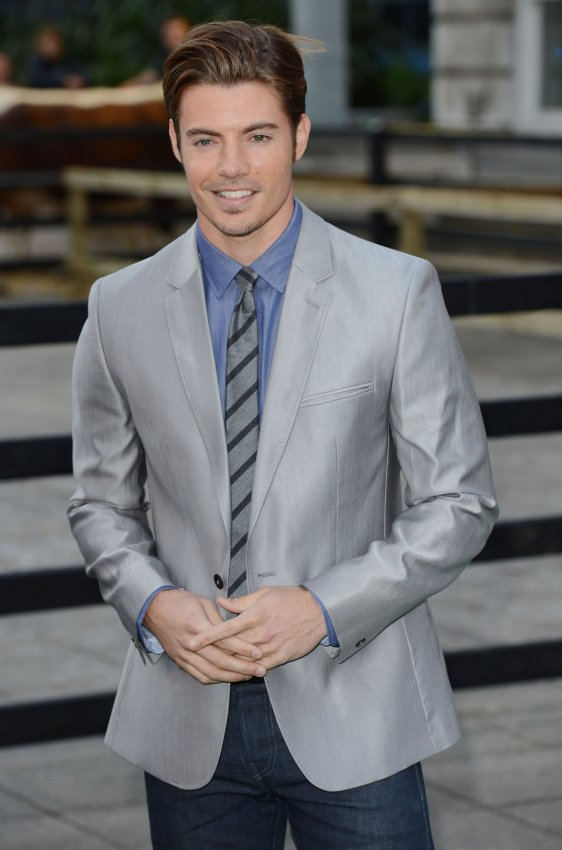 "Josh Henderson attends the launch of ""Dallas"" in London"