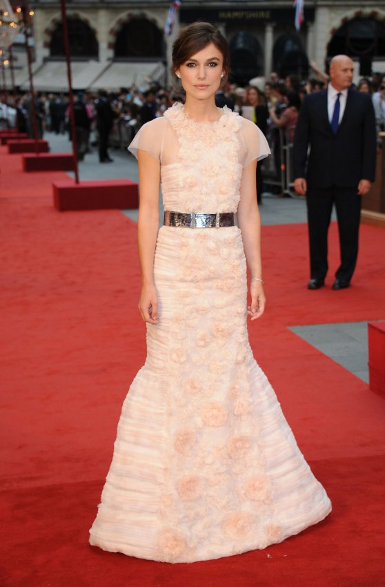 "Keira Knightley attends The World Premiere of ""Anna Karenina"" in London"