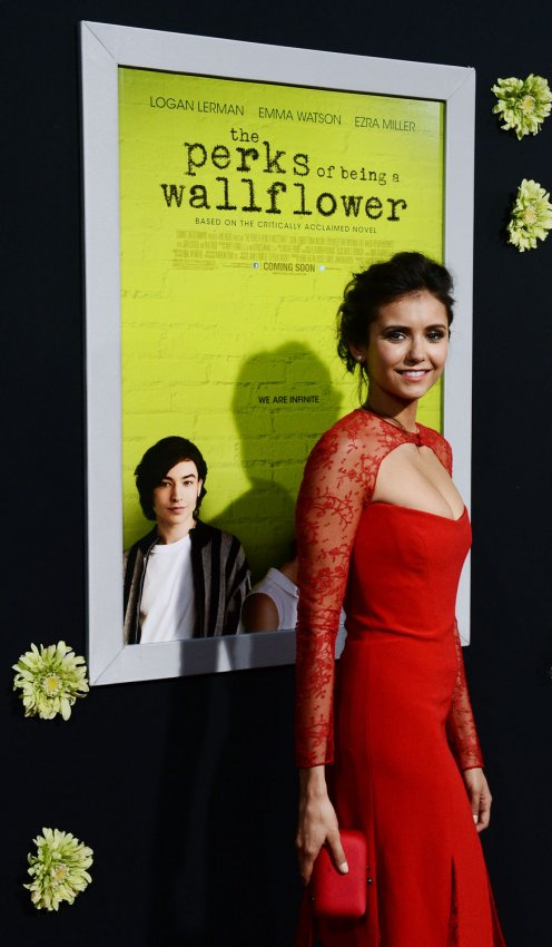 "Nina Dobrev attends ""The Perks of Being a Wallflower"" premiere in Los Angeles"