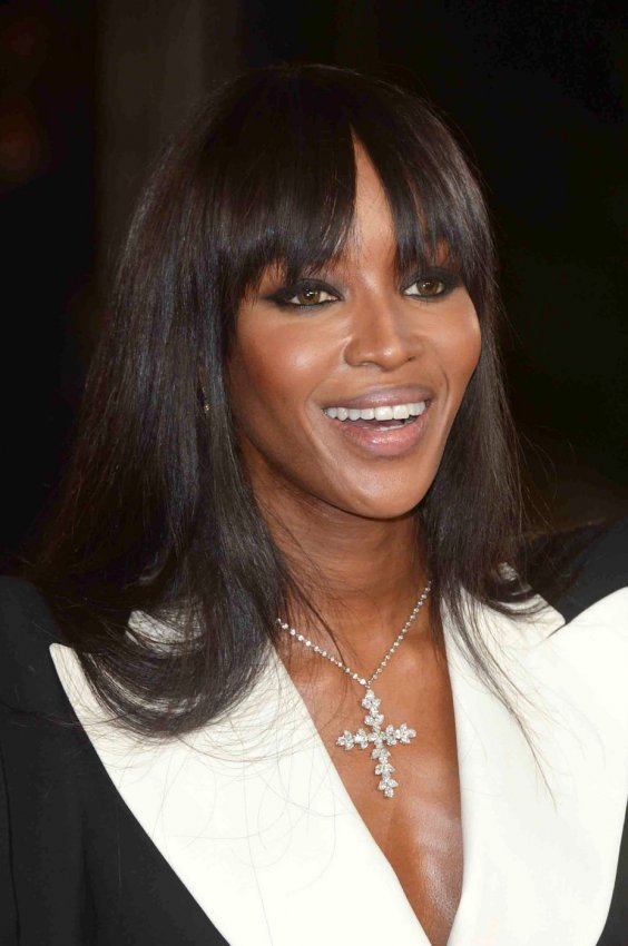 "Naomi Campbell attends The Royal World Premiere of ""Skyfall"" in London"