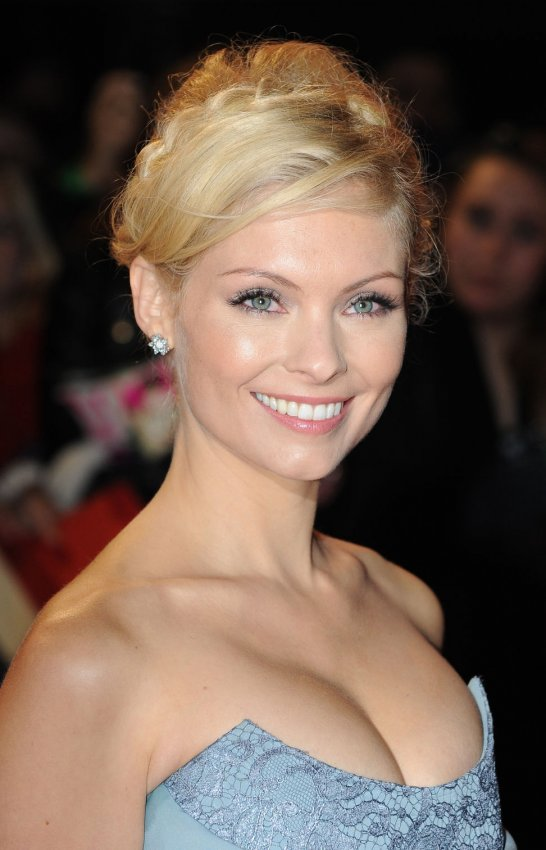 "MyAnna Buring attends The UK premiere of ""The Twilight Saga: Breaking Dawn Part 2"" in London."