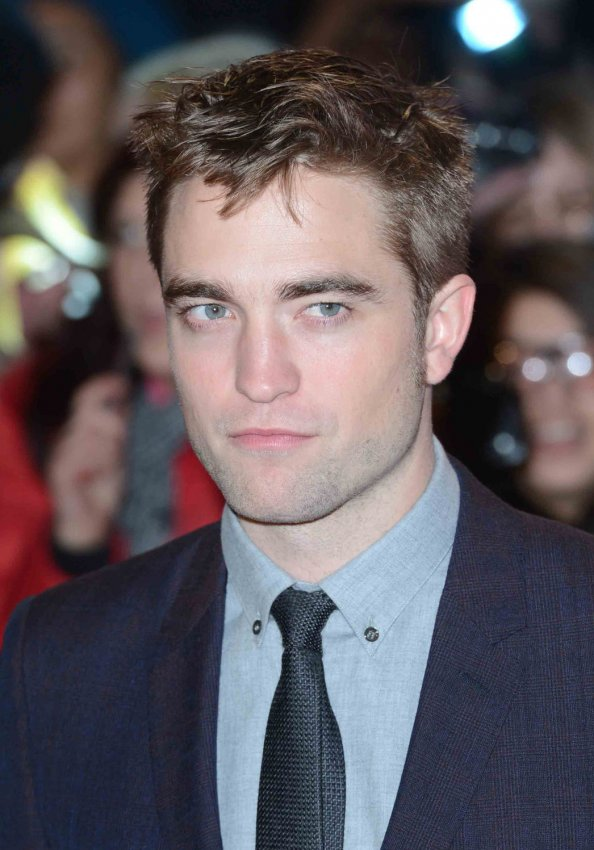 "Robert Pattinson attends The UK premiere of ""The Twilight Saga: Breaking Dawn Part 2"" in London."