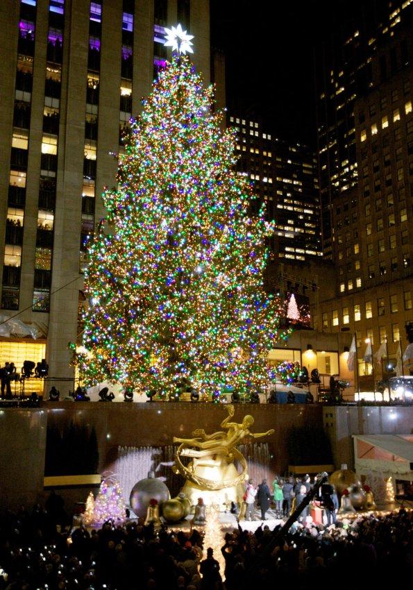 The Rockefeller Center Christmas Tree Lighting Ceremony