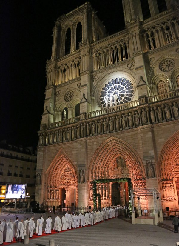 850-year anniversary of Notre Dame of Paris