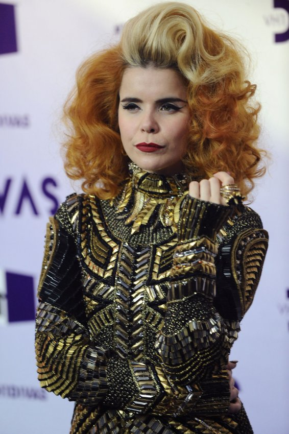 Paloma Faith attends 'VH1 Divas' 2012 in Los Angeles