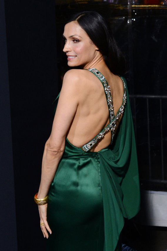 "Famke Janssen attends the ""Hansel & Gretel: Witch Hunters"" premiere in Los Angeles"