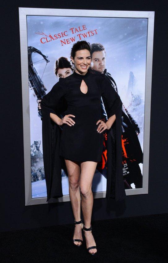 "Monique Ganderton attends the ""Hansel & Gretel: Witch Hunters"" premiere in Los Angeles"