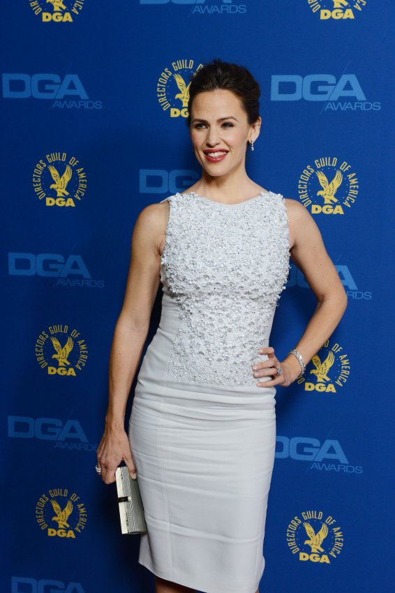 Actress Jennifer Garner attends the 65th annual DGA Awards in Los Angeles
