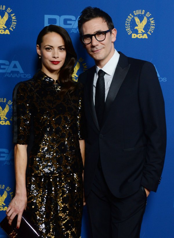 Actress Berenice Bejo and director Michel Hazanavicius attend the 65th annual DGA Awards in Los Angeles