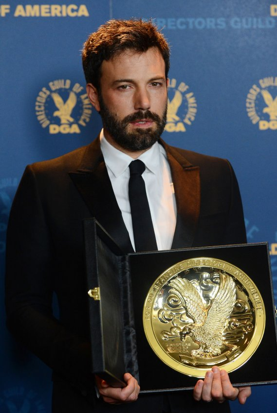 "Ben Affleck named outstanding director for ""Argo"" at 65th annual DGA Awards in Los Angeles"