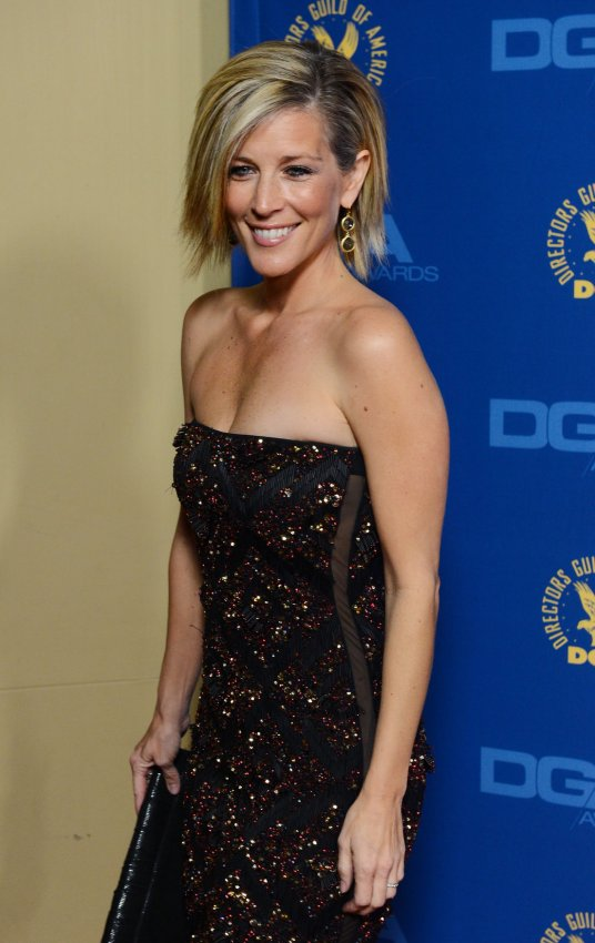 Laura Wright attends the 65th annual DGA Awards in Los Angeles