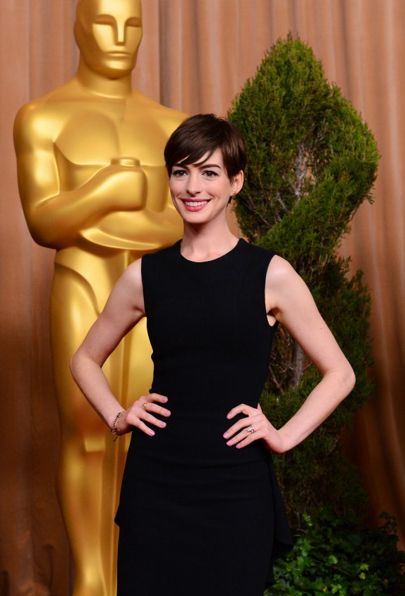 Anne Hathaway attends Oscar nominees luncheon in Beverly Hills