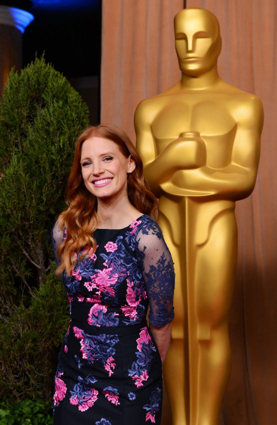 Jessica Chastain attends Oscar nominees luncheon in Beverly Hills
