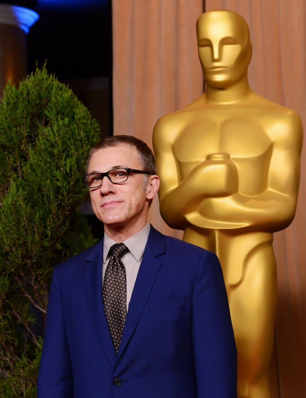 Christoph Waltz attends Oscar nominees luncheon in Beverly Hills