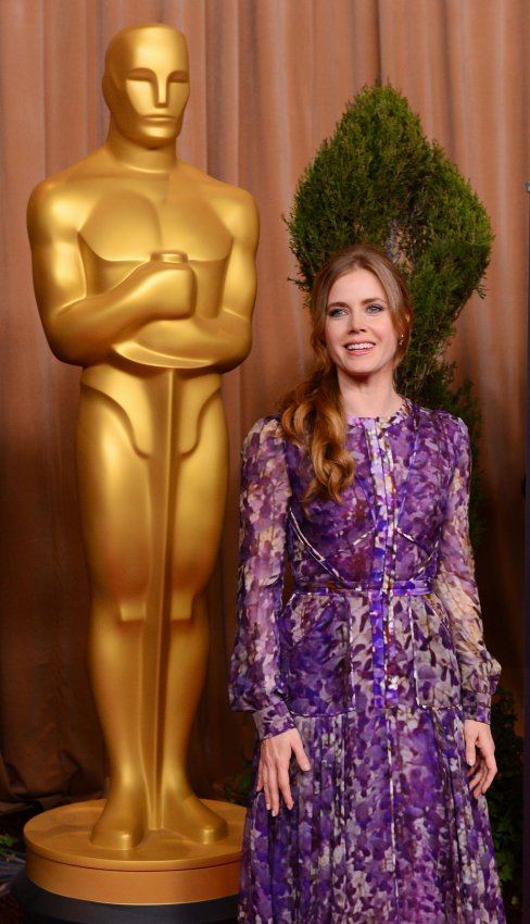 Amy Adams attends Oscar nominees luncheon in Beverly Hills