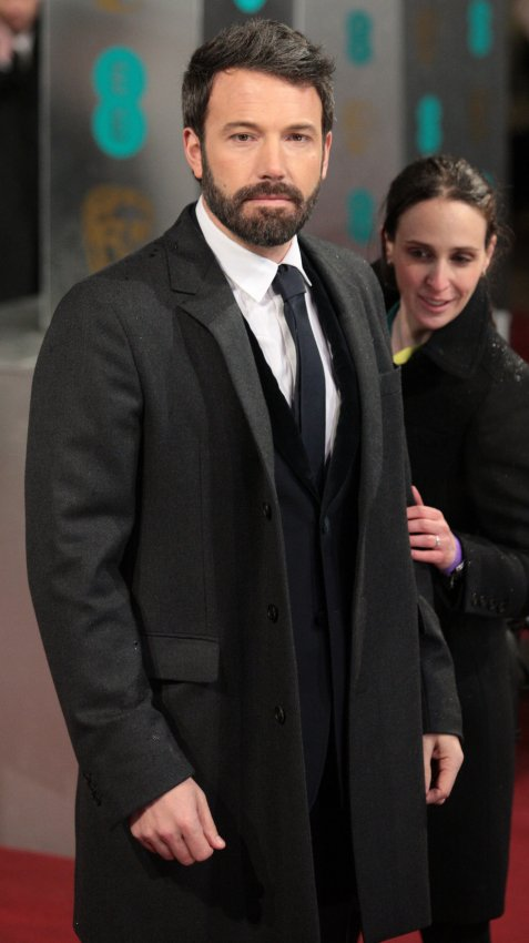 Ben Affleck arrives at the Baftas Awards Ceremony