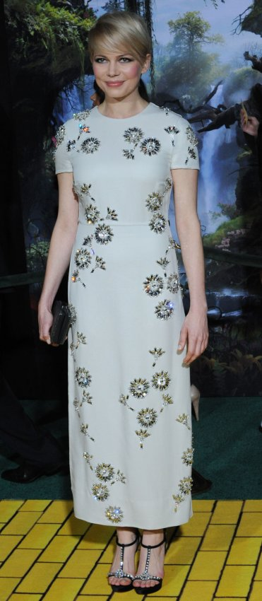 "Michelle Williams attends ""Oz The Great and Powerful"" premiere in Los Angeles"