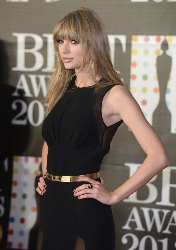 The Brit Awards 2013 in London.