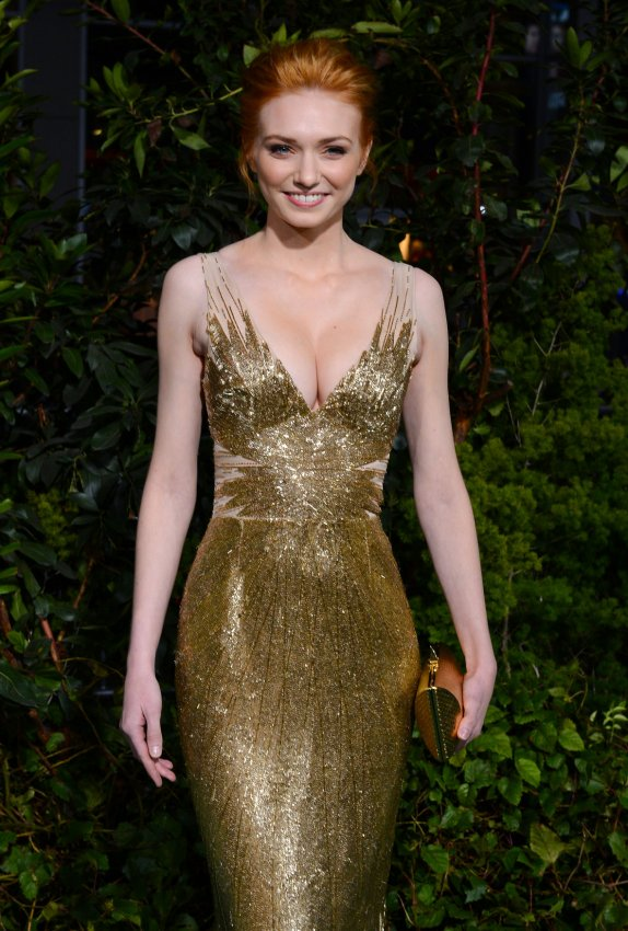 "Eleanor Tomlinson attends ""Jack the Giant Slayer"" premiere in Los Angeles"