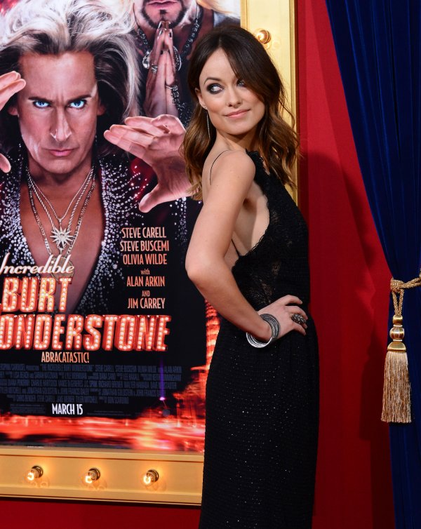 "Olivia Wilde attends ""The Incredible Burt Wonderstone"" premiere in Los Angeles"