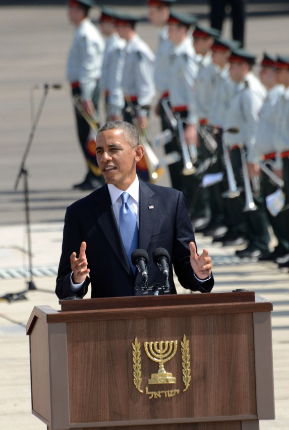 US President Barack Obama Arrives In Israel