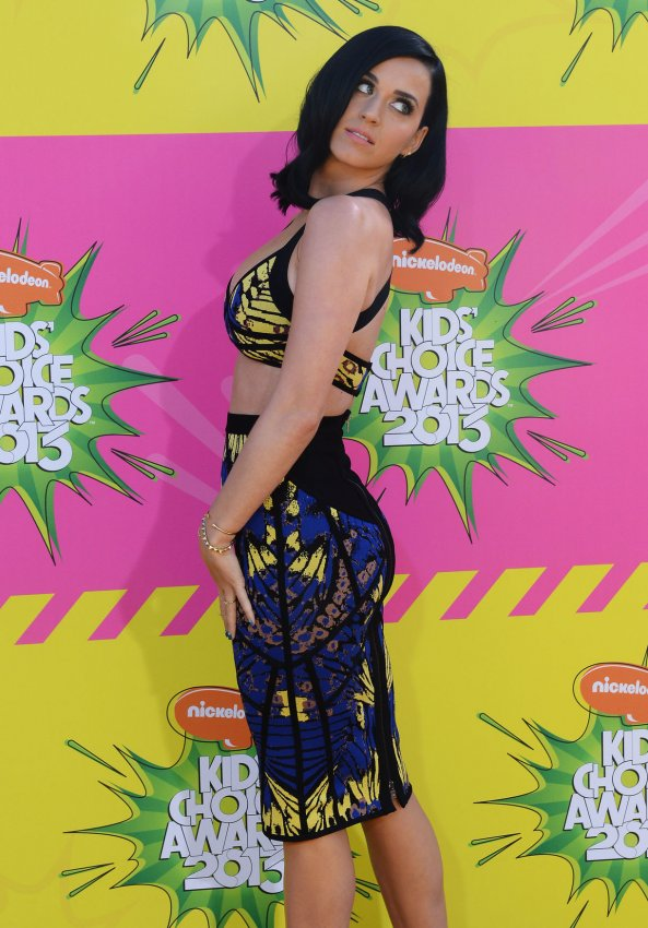 Katy Perry attends the 2013 Nickelodeon Kids' Choice Awards in Los Angeles