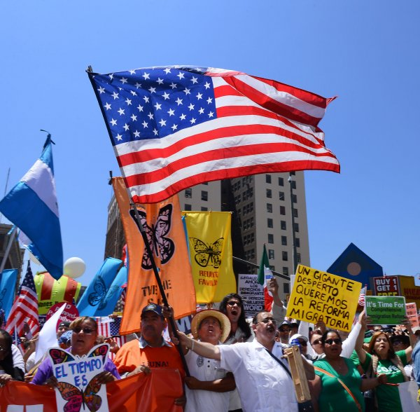 Latest News About Immigration Reform 2013: Immigration Reform Rally In Los Angeles