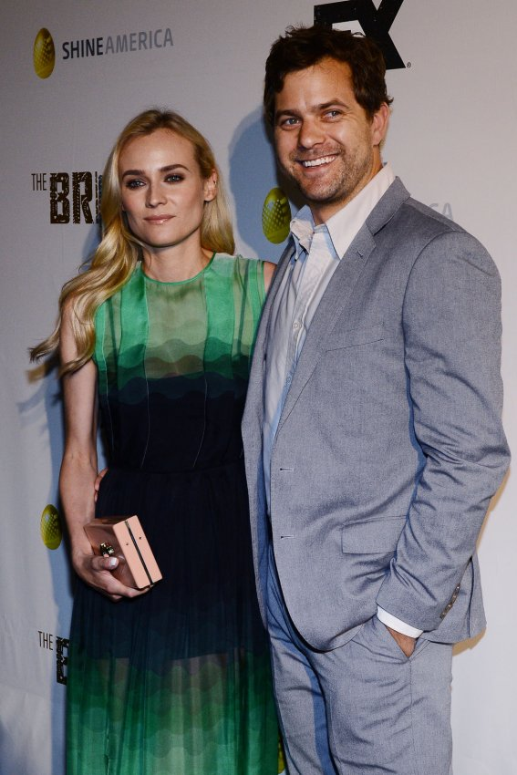 "Diane Kruger and Joshua Jackson attend the FX series premiere of ""The Bridge"" in Los Angeles"