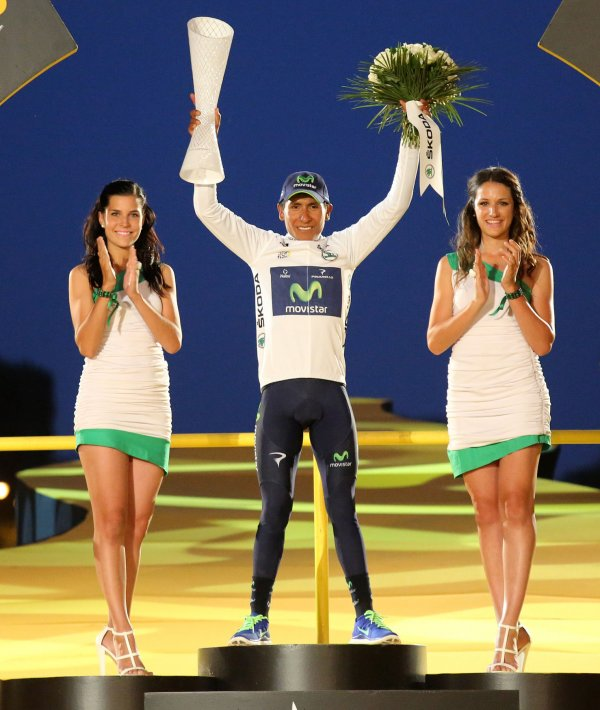 Podium Girl Tour De France