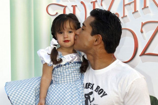 Mario Lopez and daughter Gia