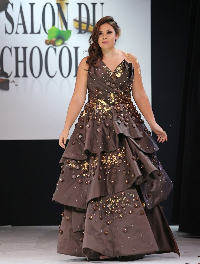 Chocolate Fashion Show In Paris