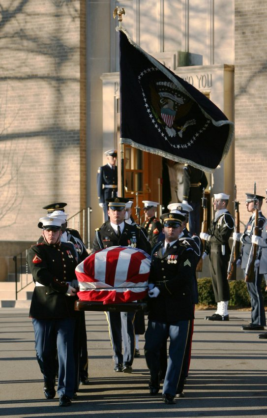 gerald ford funeral - photo #39