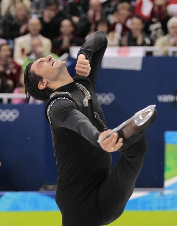 Figure skating: Evan Lysacek