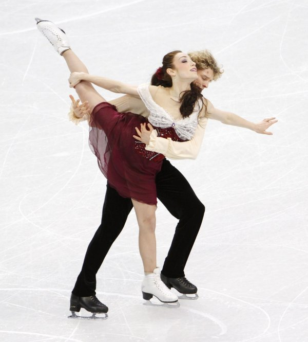 Ice dancing: Meryl Davis and Charlie White