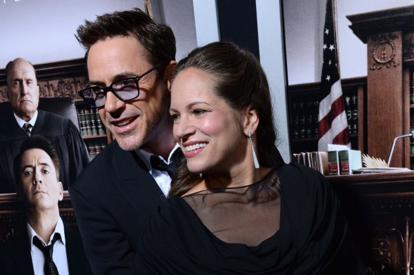 Robert Downey Jr. and his wife, producer Susan Downey