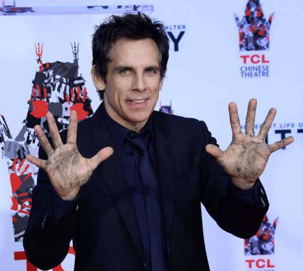 Ben Stiller immortalized with hand & footprint ceremony in Los Angeles