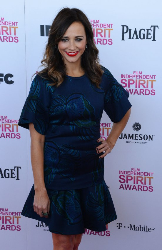 Rashida Jones attends the 28th annual Film Independent Spirit Awards in Santa Monica, California