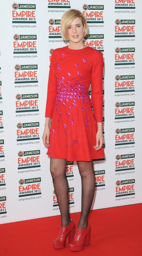 "Agyness Deyn attends the ""Empire Awards 2012"" in London"