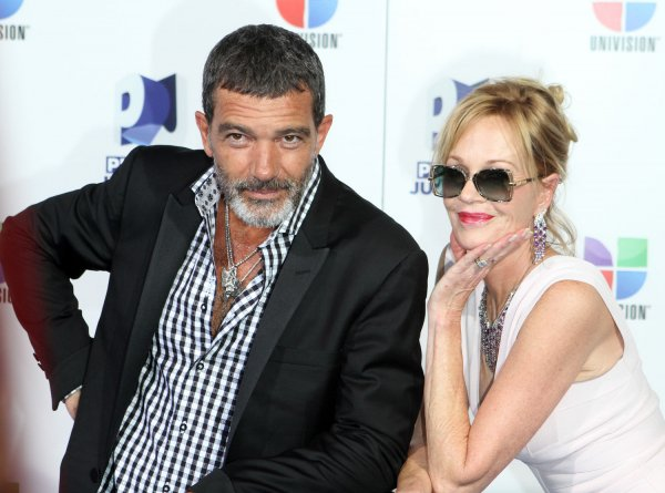 Antonio Banderas and Mellanie Griffith