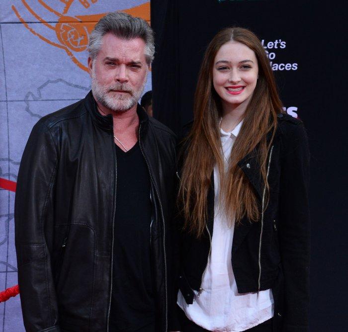 Ray Liotta and daughter Karsen